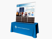 Concierge Tabletop Banner Brochure Holder - 3 Unit KIT - Tabletop Display