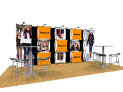 ConneX 20' Tension Fabric Pop Up Display - KIT A