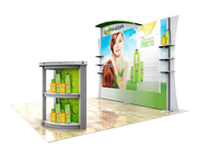 eSmart Hybrid 10' Inline Exhibit - Lightbox KIT ECO-1099