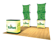 Express 8' Tension Fabric Pop Up Display - KIT A - Backwall / Inline Display