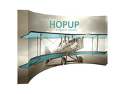 Hop-Up 15' FULL Graphic Display - Curved 6x3