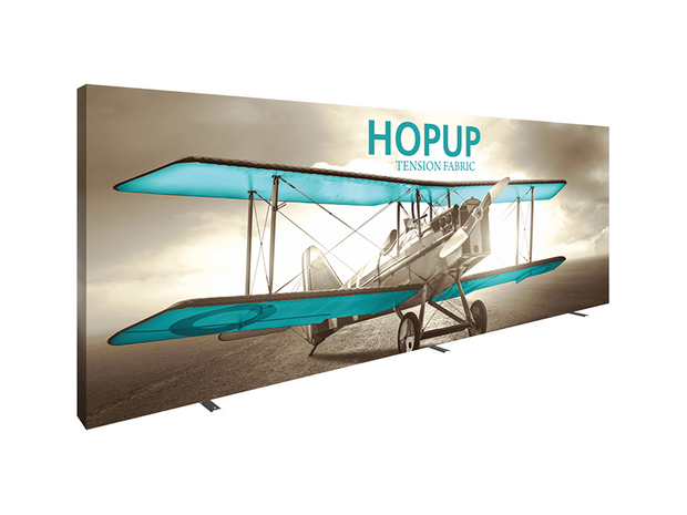 Hop-Up 20' FULL Graphic Display - Straight 8x3
