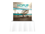 Hop-Up Tabletop 5' FRONT Graphic - Straight 2x2