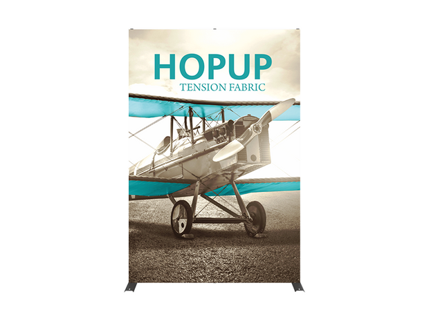 Hop-Up 6' FULL Graphic Display - Straight 2x3 - Backwall / Inline Display