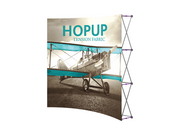 Hop-Up 8' FRONT Graphic Display - Curved 3x3