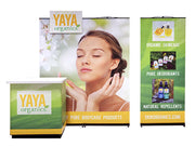 Link 8' Banner Backwall Kit 2A - Backwall / Inline Display