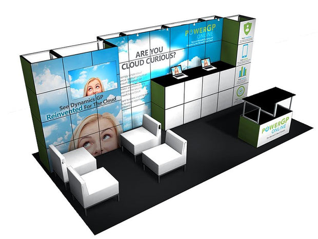 MultiQuad Modular 20' Exhibit MQ-20C