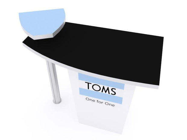 Reception Counter - LTK-1115 - Booth Accessory