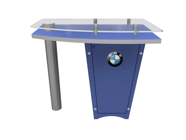 Reception Counter - LTK-1141 - Booth Accessory