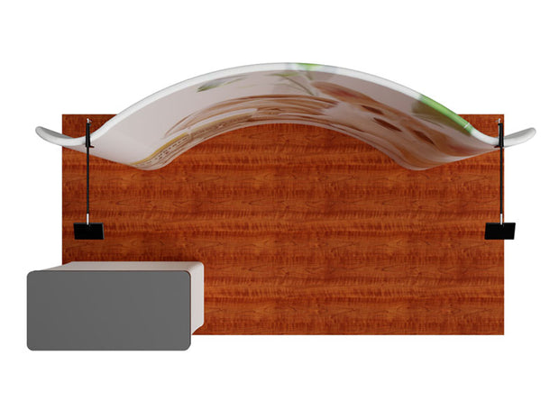 Signature 8' Single-Panel Display Kit Curved