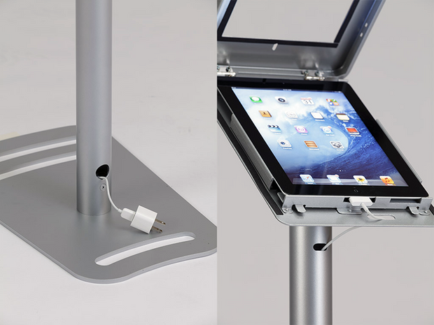 Tablet Kiosk Display Stand - iPad / Android MOD-1333 - Booth Accessory
