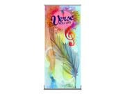 Verse-1 Rollup 33x83 Banner Stand – Single Sided