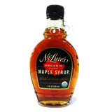 MCLURE'S ORGANIC PURE MAPLE SYRUP GRADE A DARK AMBER