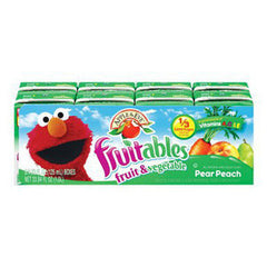 APPLE & EVE FRUITABLES PEAR PEACH JUICE - 8 PACK