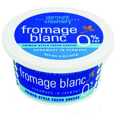 VERMONT BUTTER  & CHEESE CREAMERY FROMAGE BLANC 0%FAT