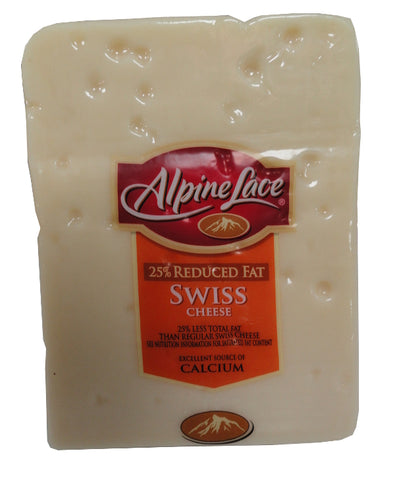 ALPINE SWISS CHEESE - 25% REDUCED FAT