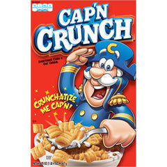 QUAKER CAPTAIN CRUNCH BERRIES CEREAL