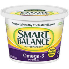 SMART BALANCE  BUTTERY SPREAD WITH OMEGA 3