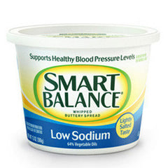 SMART BALANCE  WHIPPED BUTTERY SPREAD LOW SODIUM