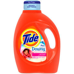 TIDE APRIL FRESH WITH A TOUCH OF DOWNY DETERGENT