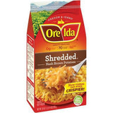 ORE IDA HASH BROWNS COUNTRY STYLE SHREDDED POTATOES
