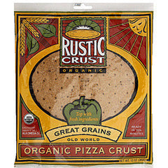 RUSTIC CRUST ORGANIC GREAT GRAINS PIZZA CRUST