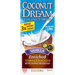 COCONUT DREAM VANILLA ENRICHED COCONUT DRINK