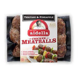 AIDELLS TERRIYAKI & PINEAPPLE CHICKEN MEATBALLS