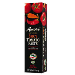 AMORE ALL NATURAL SPICY TOMATO PASTE