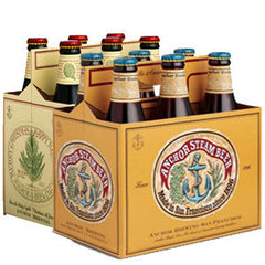 ANCHOR BREKLE'S BROWN BEER - 6 PACK - 12 FL OZ EACH BOTTLE