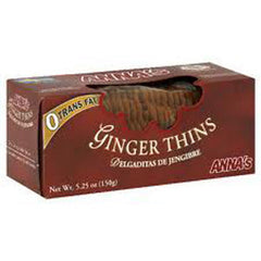 ANNA'S THINS GINGER COOKIES