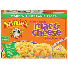 ANNIES WISCONSIN CHEDDAR MICROWAVABLE MAC & CHEESE
