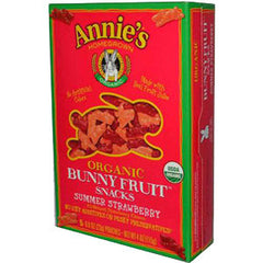 ANNIE'S ORGANIC SUMMER STRAWBERRY BUNNY FRUIT SNACKS