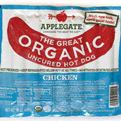 APPLEGATE ORGANIC CHICKEN HOT DOG