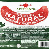 APPLEGATE UNCURED BEEF HOT DOG