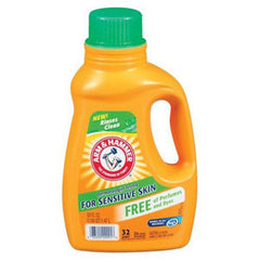 ARM & HAMMER FOR SENSITIVE SKIN FREE OF PERFUMES - 32 LOADS