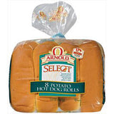 ARNOLD HOT DOG 8 PACK BUNS