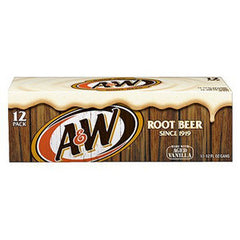 A&W ROOT BEER - 12 PACK- 12 FL OZ EACH CAN
