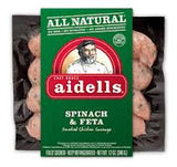 AIDELL'S SPINACH & FETA SAUSAGE