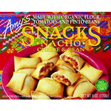 AMY'S NACHO CHEESE AND BEAN SNACKS