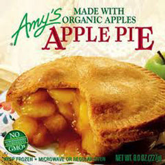 AMY'S ORGANIC APPLE PIE