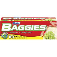 BAGGIES SANDWICH & STORAGE BAGS - 6 3/4 * 8