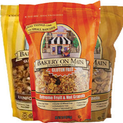 BAKERY ON MAIN APPLE CINNAMON WALNUT GLUTEN FREE GRANOLA