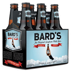 BARD'S THE ORIGINAL SORGHUM MALT BEER - 6 PACK BOTTLE