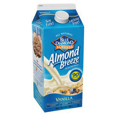 BLUE DIAMON ALMOND BREEZE VANILLA MILK - 90 CALORIES