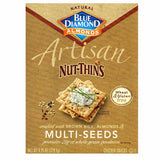 BLUE DIAMOND ARTISAN NUT THINS MULTI SEEDS CRACKERS SNACKS