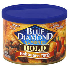 BLUE DIAMOND BOLD HABANERO BBQ ALMONDS