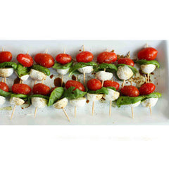 BOCCONCINI WITH GRAPE TOMATOES