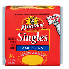 BORDEN DELUXE SINGLE CHEESE