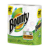 BOUNTY GARDEN PRINT PAPER TOWELS 2 PACK